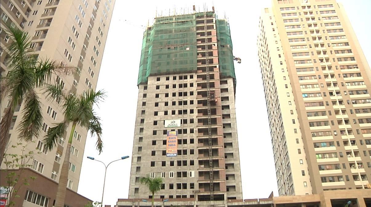 Tòa HHA đang trong quá trình hoàn thiện và dự kiến sẽ được bàn giao vào cuối năm nay.