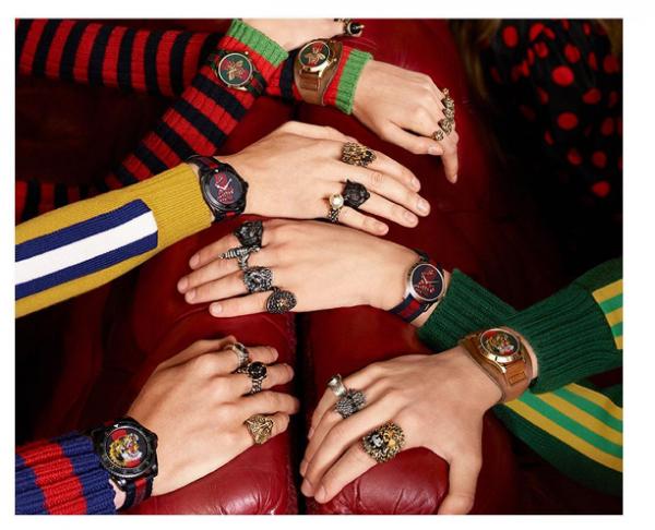 Bộ sưu tập đồng hồ xa xỉ của Gucci ra mắt giữa năm 2017.