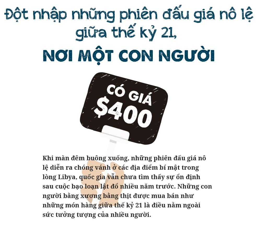 Đột nhập những phiên đấu giá nô lệ giữa thế kỷ 21, nơi một con người có giá 400 USD - Ảnh 1.