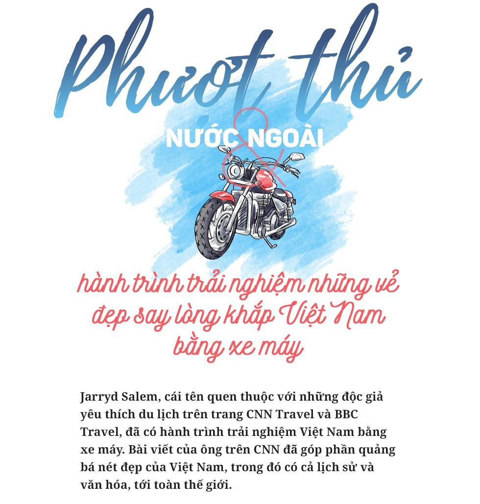 Phượt thủ nước ngoài và hành trình trải nghiệm những vẻ đẹp say lòng khắp Việt Nam bằng xe máy - Ảnh 1.