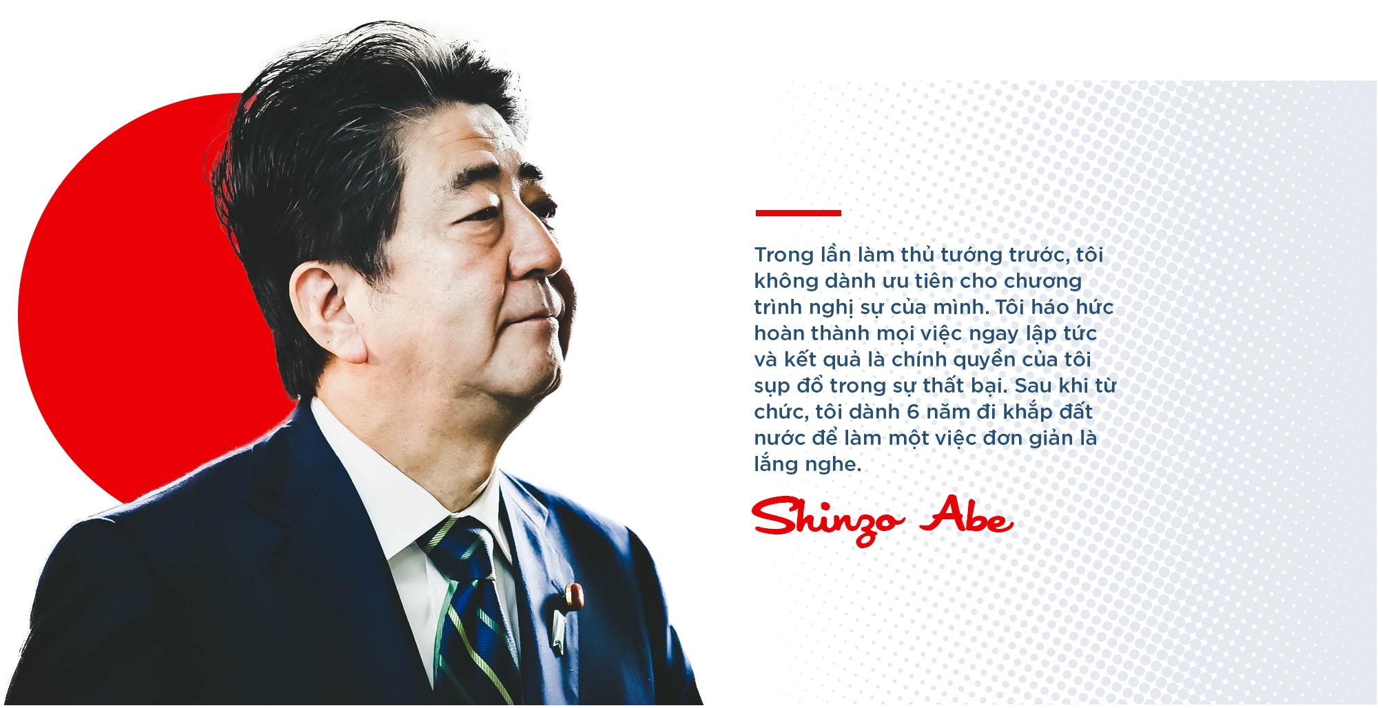 """Thủ tướng Shinzo Abe: """"Siêu nhân"""" của chính trường Nhật Bản, người đứng lên từ chính nơi vấp ngã - Ảnh 11."""