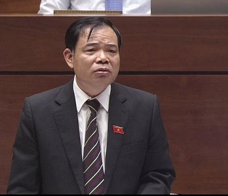 [Live] Chất vấn Bộ trưởng NN&PTNT: Đại biểu chất vấn trách nhiệm của Bộ về khủng hoảng thịt lợn, giải cứu nông sản - Ảnh 1.