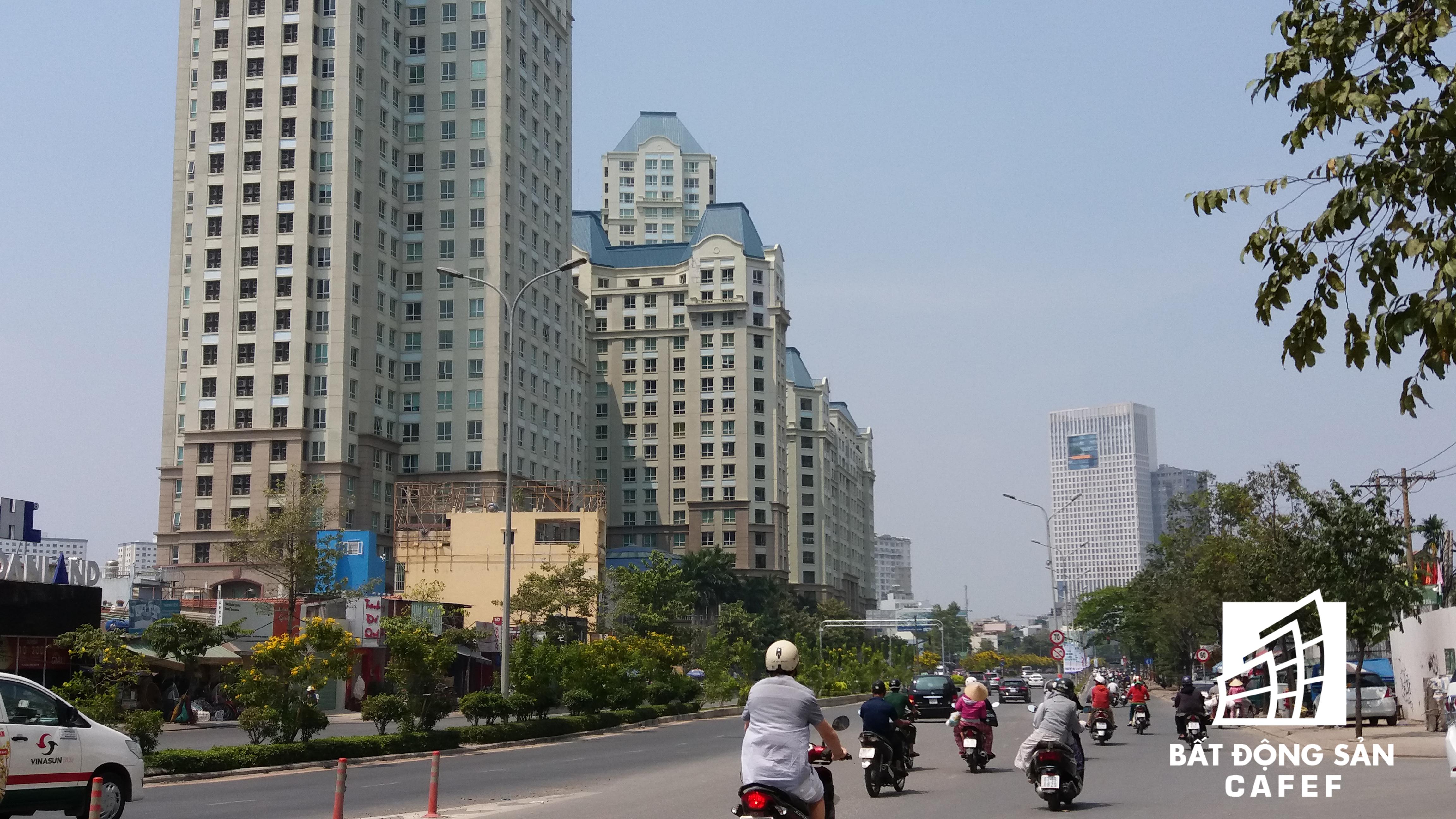 Cung đường nới vào khu trung tâm quận 1.