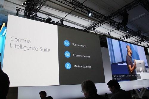 Trợ lý ảo Cortana tích hợp trong Skype.