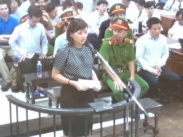 Bị cáo Nguyễn Hoài Nam