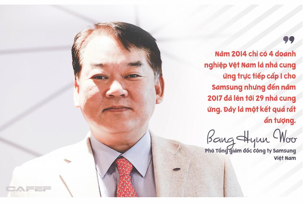 Phó Tổng giám đốc Samsung Việt Nam: Chúng tôi rất vui khi là công ty sản xuất ra rất nhiều em bé ở Việt Nam! - Ảnh 3.