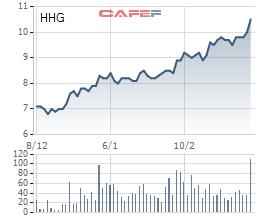 CTCP Hoàng Hà (HHG) đặt kế hoạch doanh thu tăng 20% và lợi nhuận tăng 11% cho năm 2017 (1)