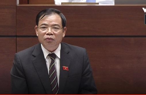 [Live] Bộ trưởng NN&PTNT trả lời chất vấn đại biểu Quốc hội - Ảnh 1.