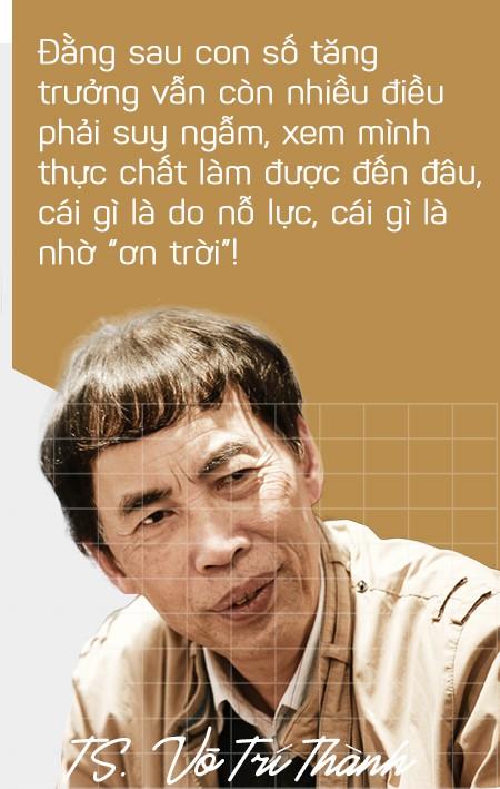 TS. Võ Trí Thành: Theo thang điểm 10, chất lượng tăng trưởng năm nay đạt được 6! - Ảnh 6.
