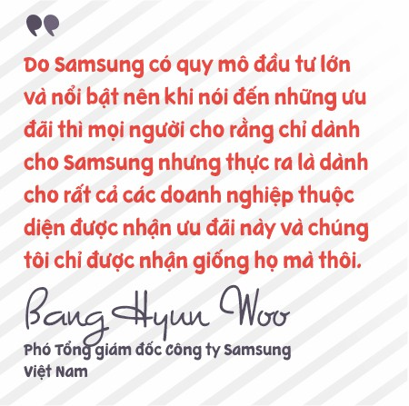 Phó Tổng giám đốc Samsung Việt Nam: Chúng tôi rất vui khi là công ty sản xuất ra rất nhiều em bé ở Việt Nam! - Ảnh 5.