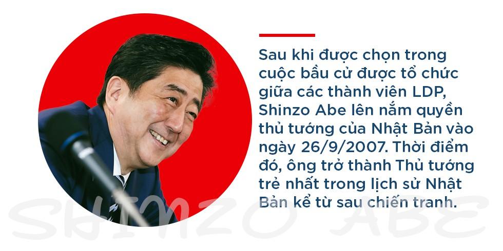"""Thủ tướng Shinzo Abe: """"Siêu nhân"""" của chính trường Nhật Bản, người đứng lên từ chính nơi vấp ngã - Ảnh 6."""