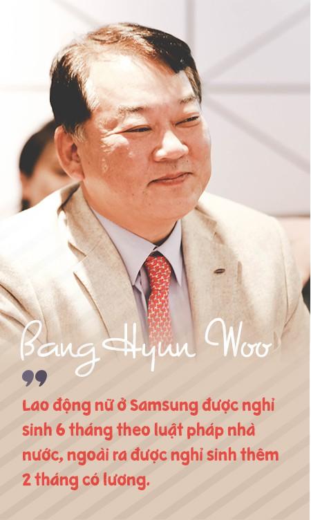 Phó Tổng giám đốc Samsung Việt Nam: Chúng tôi rất vui khi là công ty sản xuất ra rất nhiều em bé ở Việt Nam! - Ảnh 7.