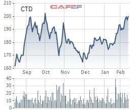 CTD đã vượt đỉnh cũ hồi tháng 10 (giá điều chỉnh)