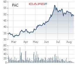 Pinaco (PAC) lấy ý kiến cổ đông phát hành lại BCTC năm 2016, lợi nhuận tăng thêm 78 tỷ đồng