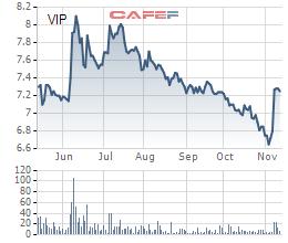 Vipco (VIP) muốn mua 3 triệu cổ phiếu quỹ để gia tăng giá trị giao dịch - Ảnh 1.