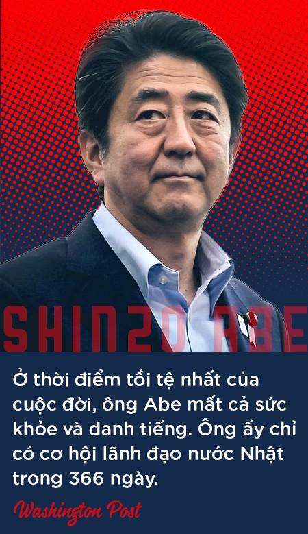 """Thủ tướng Shinzo Abe: """"Siêu nhân"""" của chính trường Nhật Bản, người đứng lên từ chính nơi vấp ngã - Ảnh 8."""