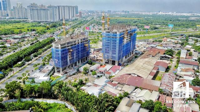 Dự án căn hộ Centana tọa lạc ngay điểm đầu đường dẫn lên tuyến cao tốc TP.HCM - Long Thành - Dầu Giây.