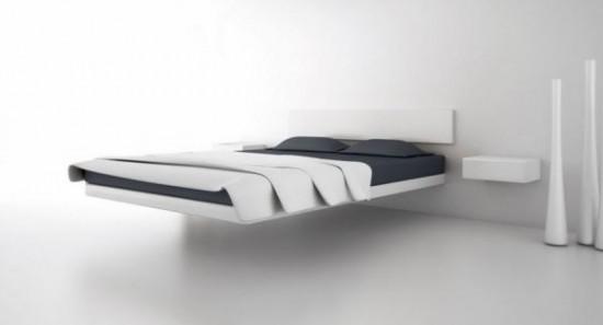 Không chỉ đẹp, lạ mắt, dễ lau chùi mà giường nổi còn giúp không gian phỏng ngủ trở nên thông thoáng và gọn gàng hơn.