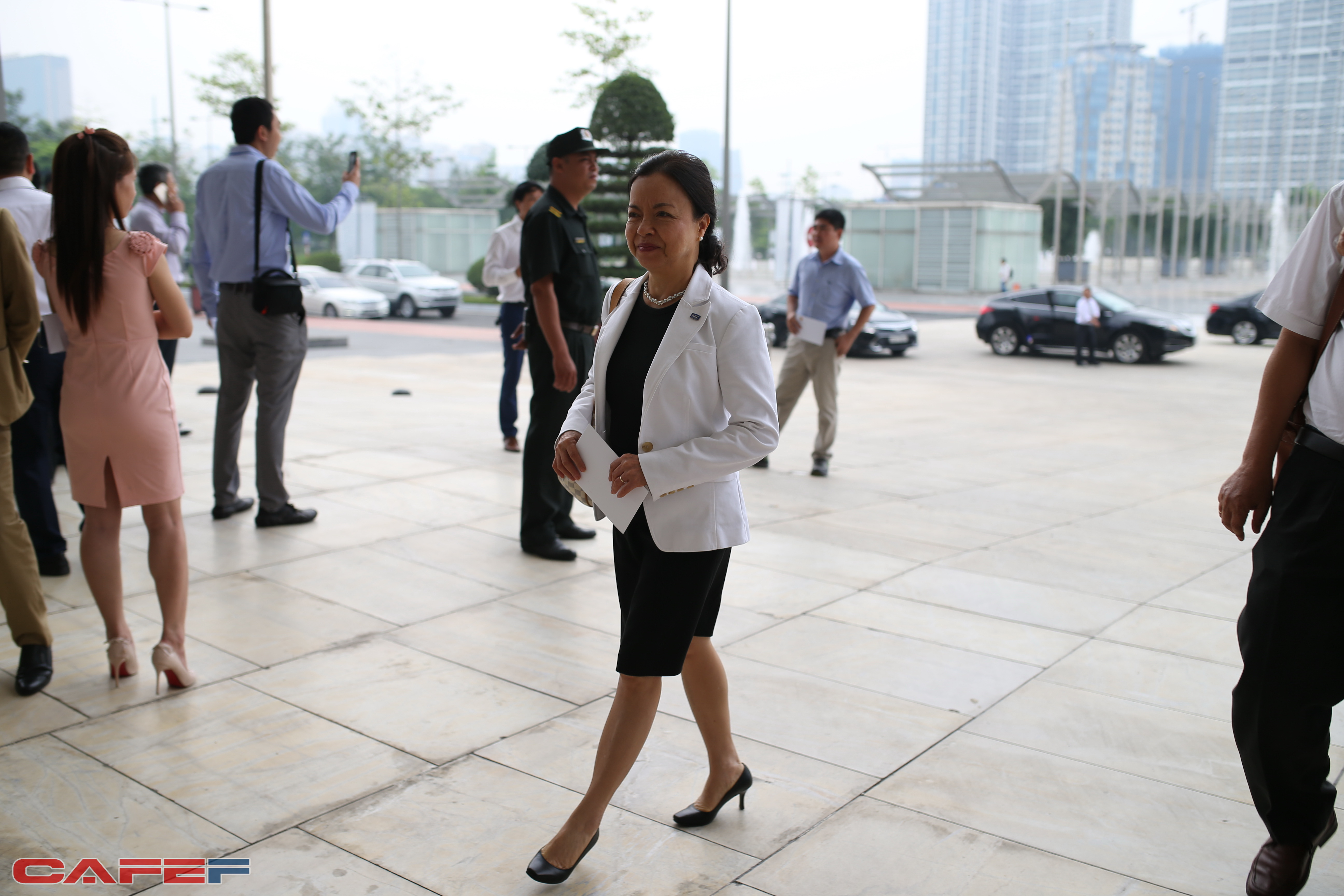 Chủ tịch kiêm TGĐ REE Nguyễn Thị Mai Thanh