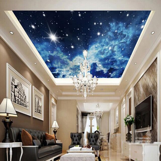 Chỉ cần nằm trong nhà bạn cũng có thể thả hồn mình vào vũ trụ bao la.