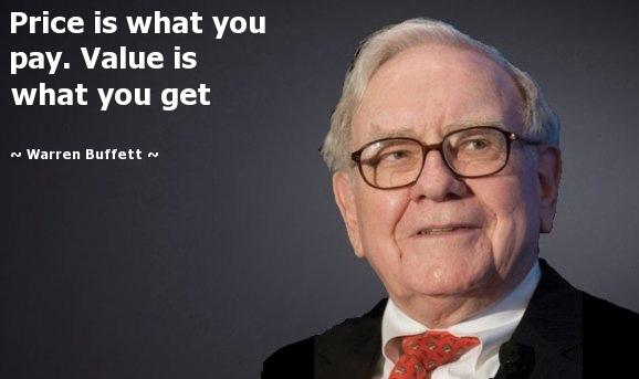 Một trong những câu nói nổi tiếng của Buffet