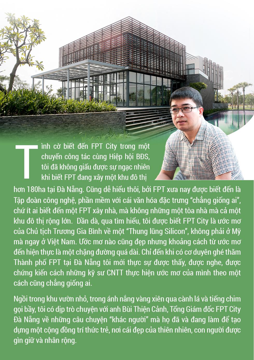"""Xây nhà 'kiểu' FPT: """"Cái đích của mọi công nghệ là để kết nối cộng đồng và trở về với thiên nhiên"""" - Ảnh 1."""