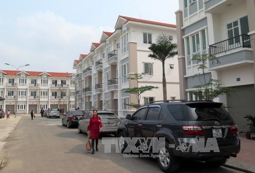 Toàn cảnh khu chung cư Pruksa Town ở xã An Đồng, huyện An Dương, Hải Phòng. Ảnh Minh Thu/TTXVN