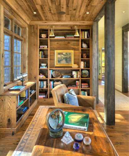 Căn phòng chứa cả một thư viện sách