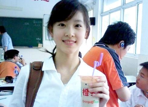 Bức ảnh giúp Chương Chiết Thiên được ca ngợi là hot girl trà sữa cách đây 8 năm.