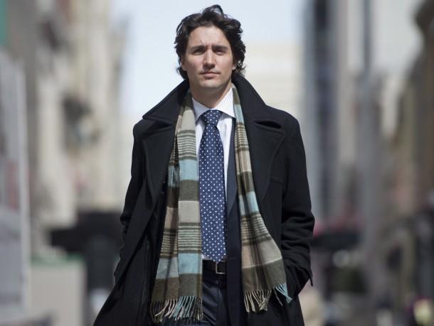 Vẻ phong trần, nam tính của thủ tướng.