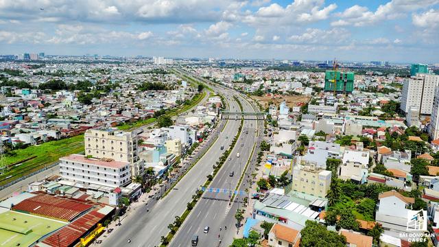 TP.HCM vừa có quyết định đầu tư mở rộng đường Tô Ngọc Vân, đoạn từ Chợ Thủ Đức giúp kết nối thông suốt với đại lộ Phạm Văn Đồng.