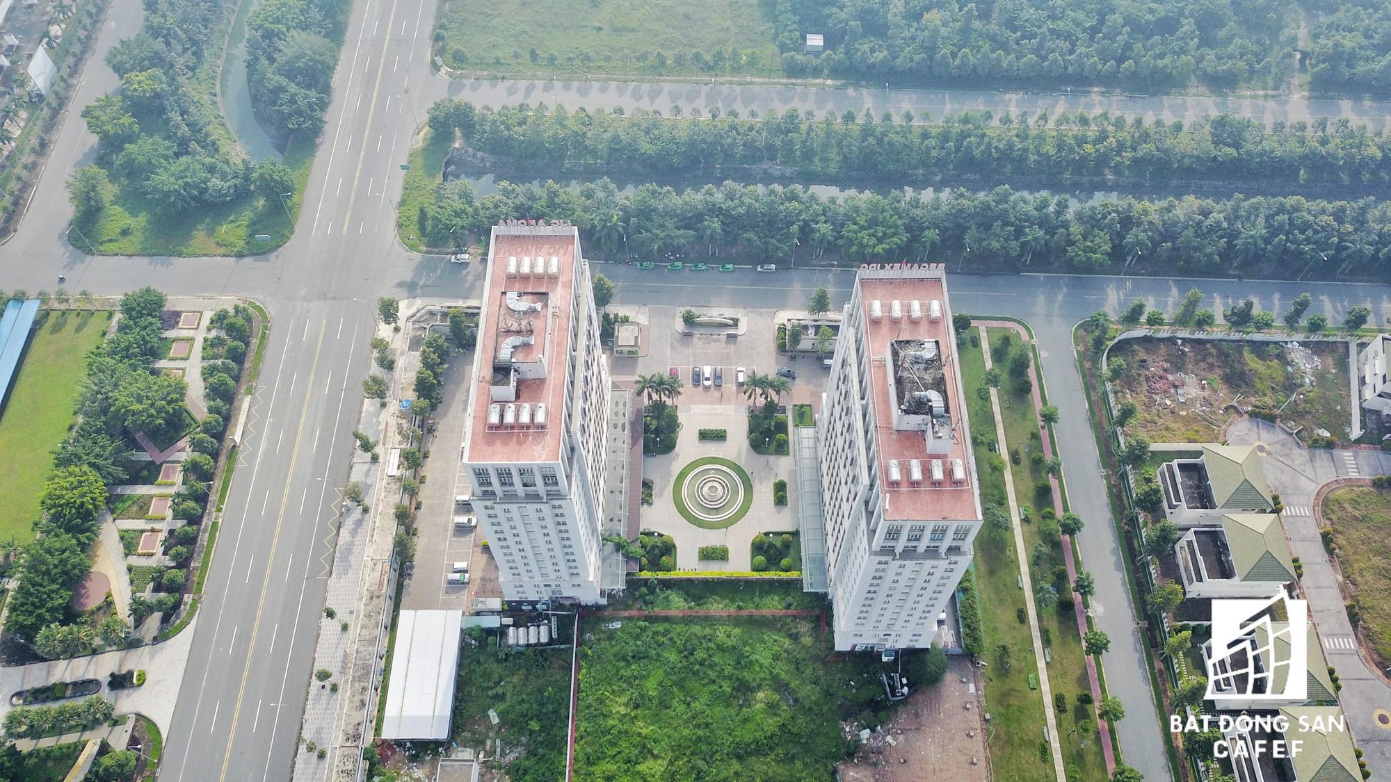 Tại đây, Becamex đã hợp tác với các nhà đầu tư Hàn Quốc xây nên khu đô thị Becamex Tokyu, nhưng sau nhiều năm xây dựng vẫn chỉ mới hoàn thiện một block căn hộ và văn phòng.