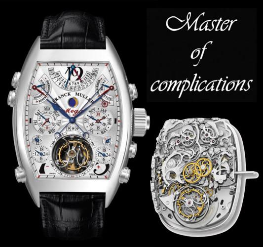 Franck Muller Aetermitas Mega 4 có giá 1,8 triệu USD.