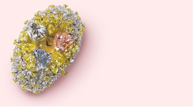 Chopard 201-Carat - 25 triệu USD. Chiếc đồng hồ sử dụng 874 viên kim cương với khối lượng 201 carat.