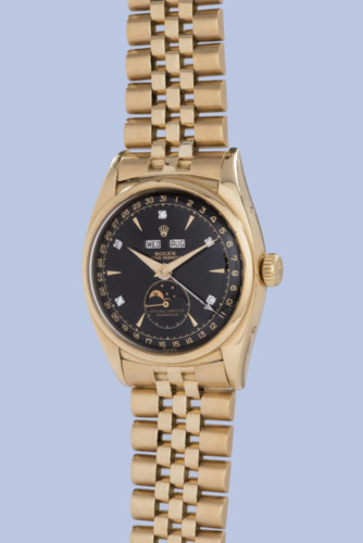 Đồng hồ Rolex của vua Bảo Đại có giá 5 triệu USD. Mức giá này đã lập kỷ lục chiếc đồng hồ Rolex có giá đắt nhất thế giới, gấp đôi chiếc Rolex Reference 4113 Split-Second Chronograph hơn một năm trước.