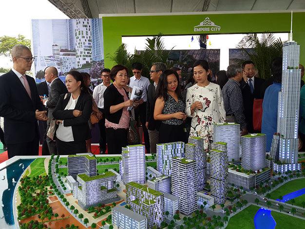 Empire City là một dự án rất đáng chú ý được khởi động trong năm 2016 do Keppeland phát triển. Trong khu đô thị cũng sẽ xây dựng một tòa nhà chọc trời cao 86 tầng.