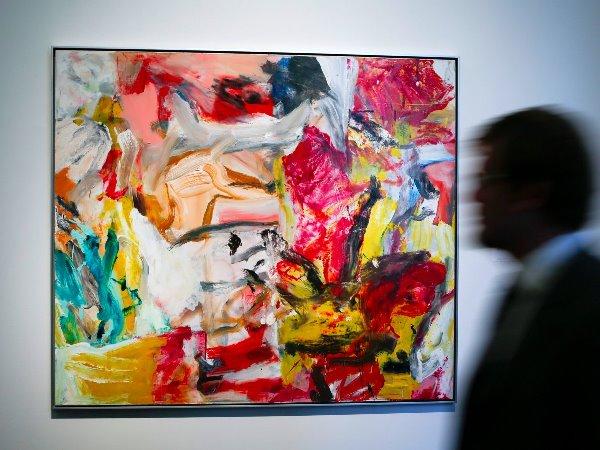 Bức tranh đắt giá nhất thế giới Willem De Kooning theo trường phái Trừu tượng.