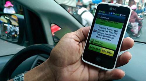 Lịch trình của khách hàng và tài xế Uber hiển thị chi tiết giúp 2 bên kết nối dễ dàng.