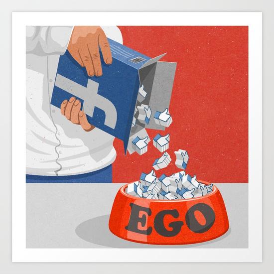 Mạng xã hội ngày càng xâm chiếm cuộc sống của con người. Nút Like như một loại thức ăn đóng hộp, tiện, gọn và nhiều người ưa chuộng.