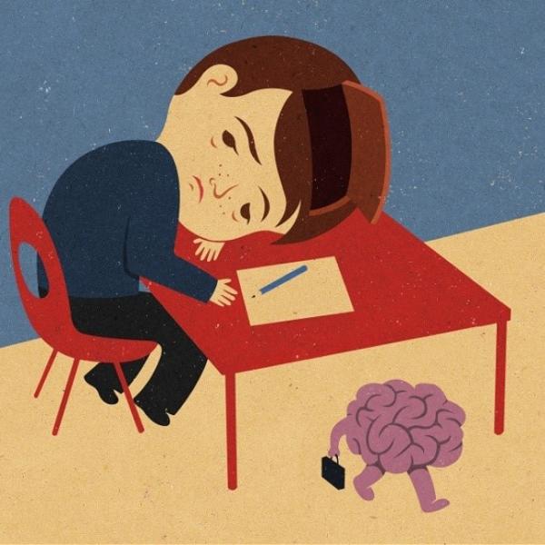 Trẻ em hàng ngày đi học như một cái máy được lập trình. Não bộ của chúng phải hoạt động như một người trưởng thành.
