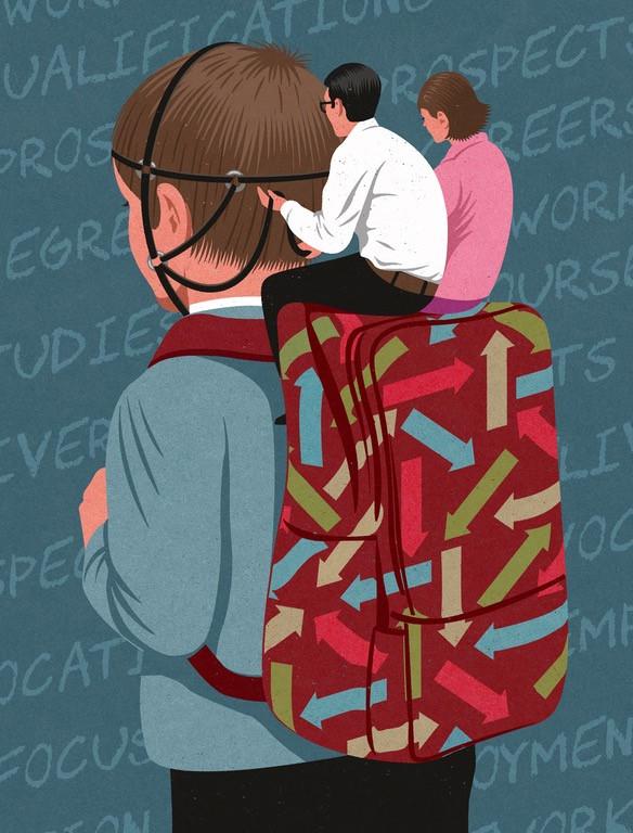 Nhiều đứa trẻ trở thành những con rối, được điều khiển bởi cha mẹ chúng.