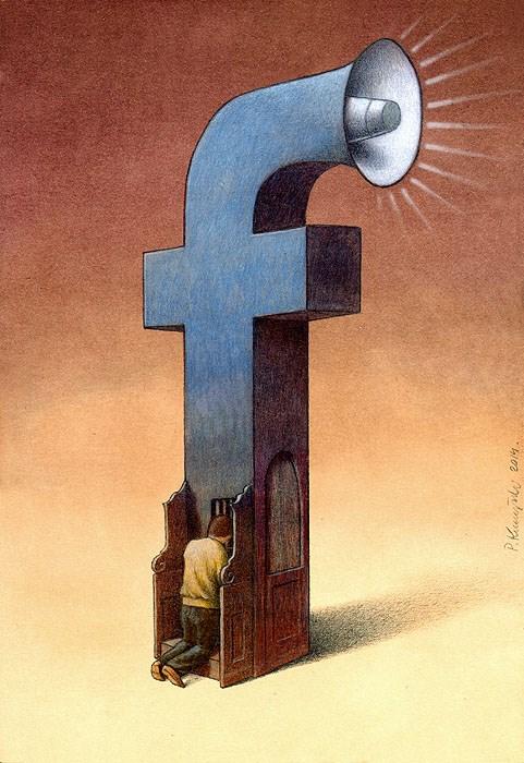 ' Khi gặp vấn đề, con người tìm đến mạng xã hội thay vì người thân, bạn bè. Người ta ngày càng thích xưng tội với Facebook hơn. '