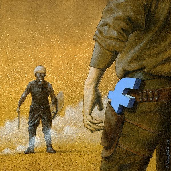 ' Mạng xã hội đôi khi trở thành vũ khí có tính sát thương cao. Nút Like, những lời bình luận là những lưỡi dao, nòng súng khiến con người tổn thương. '