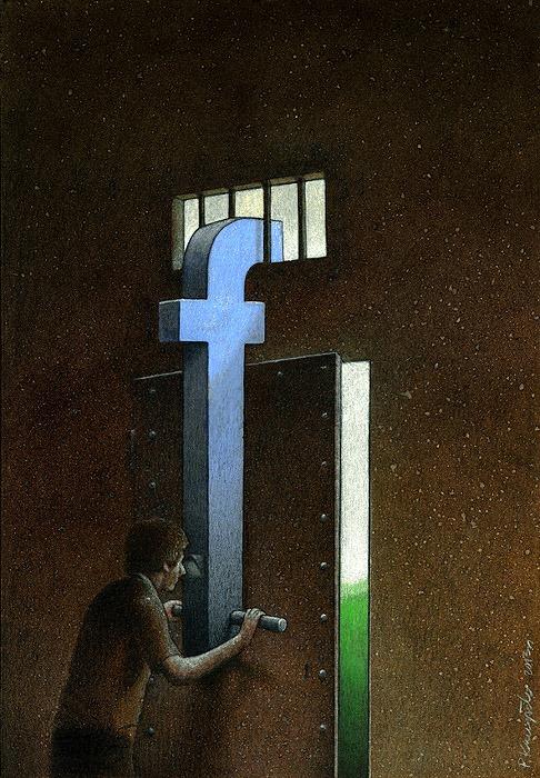 ' ... Bởi vì quá nhiều người từ chối sống thực. Họ nhìn cuộc đời qua lăng kính của Facebook, để mạng xã hội định hướng suy nghĩ, quan điểm. '