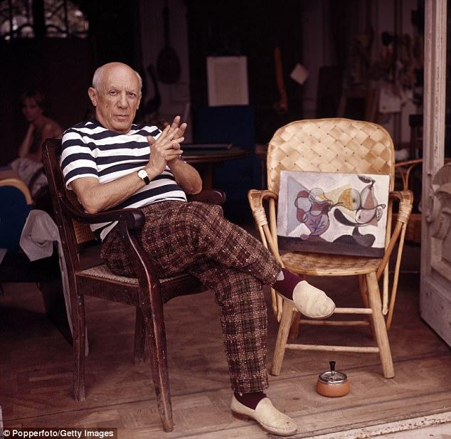 Danh họa nổi tiếng Pablo Picasso từng hẹn hò với rất nhiều người đẹp, tất cả họ đều ở lứa tuổi đôi mươi.