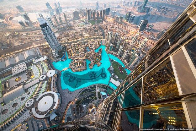 Thành phố Dubai ở một góc nhìn khác.