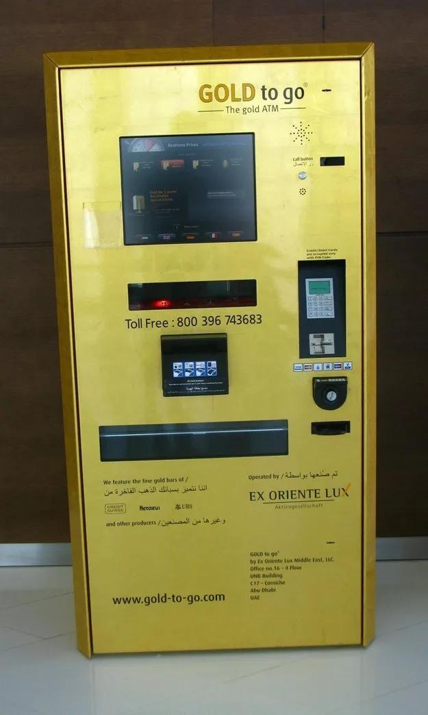 Ở mảnh đất siêu giàu Dubai, người ta có thể rút cả vàng từ cây ATM.