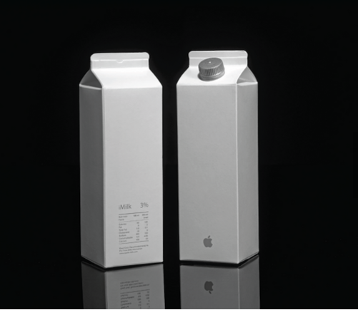 Apple sản xuất iPhone, và có lẽ là cả iMilk...