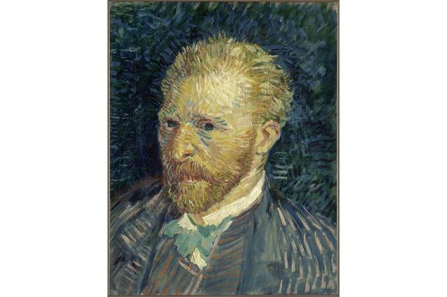 Chân dung tự họa của Vincent Van Gogh mượn từ bảo tàng Musée dOrsay, 1887.