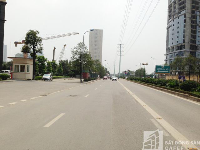 Đường Tố Hữu đoạn đi qua dự án.